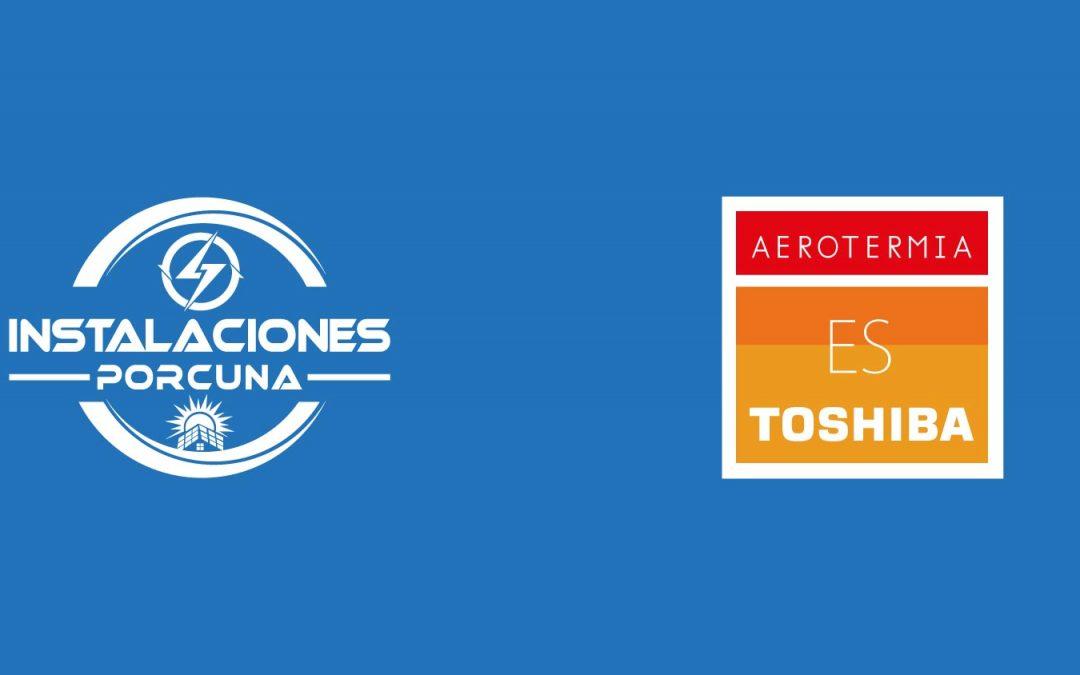 Instalaciones Porcuna, instaladores oficiales de los productos de aerotermia de Toshiba